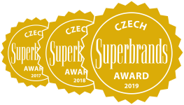 GEPARD - Czech Superbrands 2017/2018/2019
